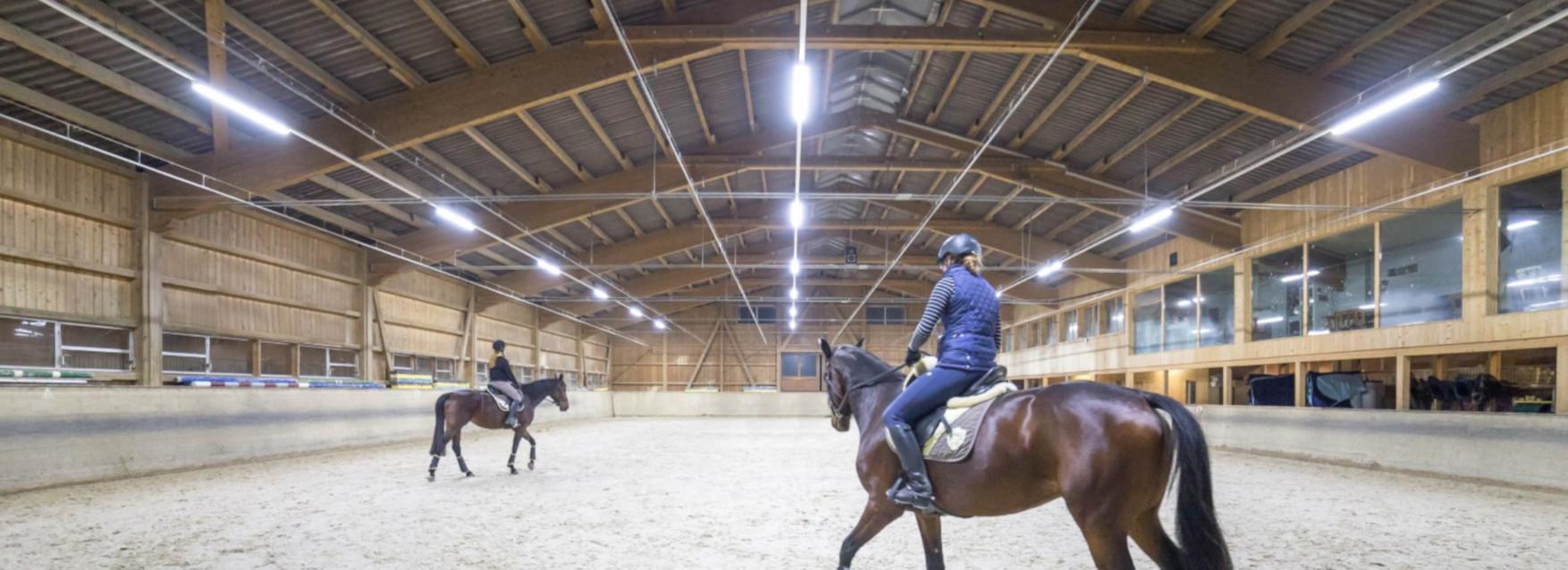 FRESHLIGHT LED Beleuchtung und Ionisation für Ställe und Hallen