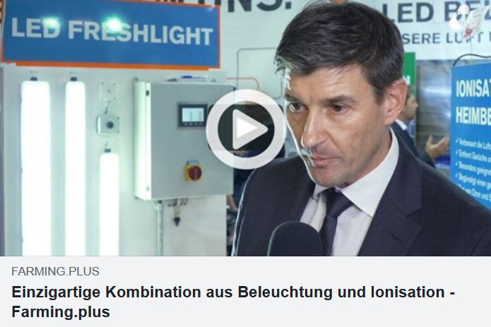LED Freshlight: Ivo Sigrist zu den Vorteilen der revolutionären Stallbeleuchtung